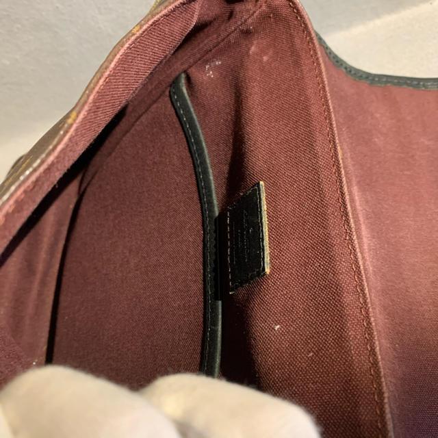 LOUIS VUITTON(ルイヴィトン)のルイヴィトン モノグラム  マカサー  ショルダーバッグ バスPM メンズのバッグ(ショルダーバッグ)の商品写真