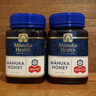 マヌカハニー MGO573+ 500g マヌカヘルス 2個セット