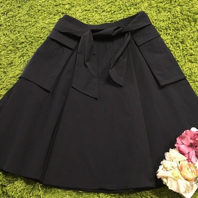 FOXEY(フォクシー)のフォクシー レディストレッチスカート黒 レディースのスカート(ひざ丈スカート)の商品写真