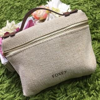 FOXEY - 新品フォクシー レディキャンバスポーチ