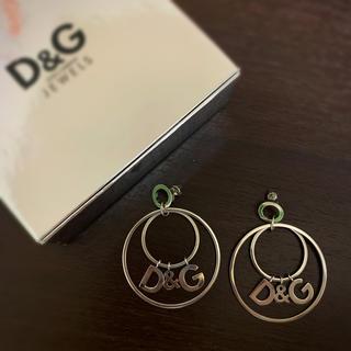 ディーアンドジー(D&G)の《D&G》ループロゴピアス(ピアス)