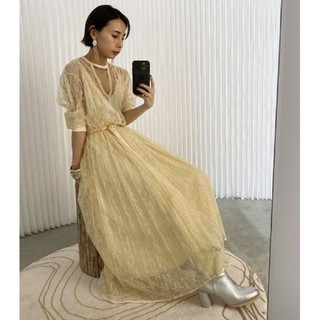 Ameri VINTAGE - アメリヴィンテージ LADY LACE PLEATS DRESS