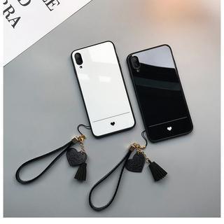 送料無料☆iPhone ケース おしゃれ ワンポイント ペア 可愛い ハート