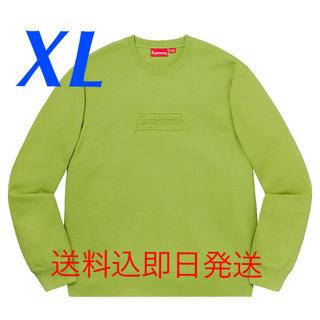 Supreme - 定価以下【XL】Supreme Cutout Logo Crewneck