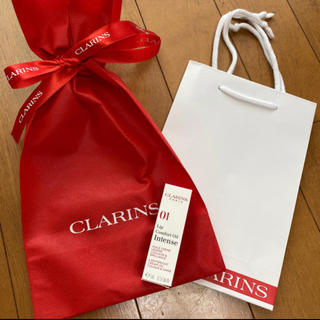 クラランス(CLARINS)の❤️クラランス   ラッピング ラッピング袋 ショッパー ショップ袋(ショップ袋)