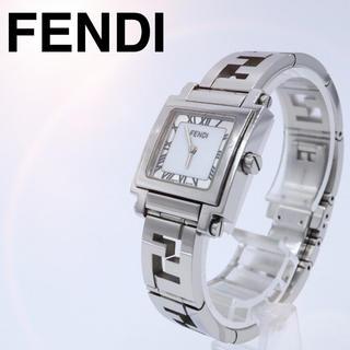 FENDI - ズッカ【大人気】FENDI フェンディ 6000L スクエア レディース 時計
