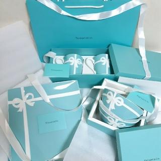 Tiffany & Co. - ティファニー ブルー ボックス マグカップ1箱 プレート1箱 セット