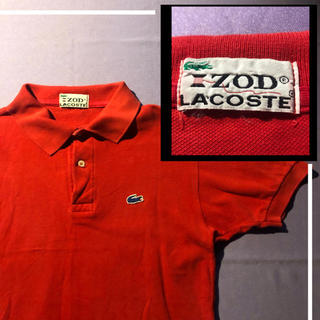 LACOSTE - 【希少品】lacoste ポロシャツ 青ワニ ZOD ラコステ