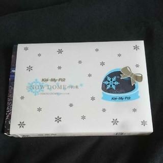 キスマイフットツー(Kis-My-Ft2)のKis-My-Ft2  snow domeの約束(アイドルグッズ)