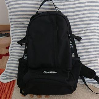 Supreme - こくー様18SS Supreme backpack Black リュック