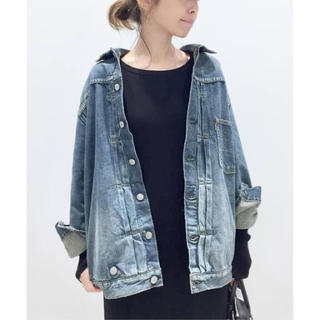 L'Appartement DEUXIEME CLASSE - アパルトモン【STAMMBAUM】OVERSIZE DENIM JACKET
