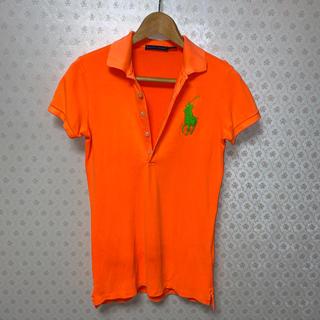 ラルフローレン(Ralph Lauren)の✴️ラルフローレン✴️半袖ストレッチ/ポロシャツ✴️ショッキングオレンジ(ポロシャツ)