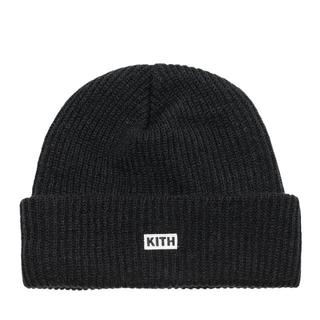 シュプリーム(Supreme)のKith Box Logo Knit Beanie-Black(ニット帽/ビーニー)