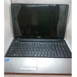 エイサー(Acer)のacer ノートパソコン ウェブカメラ付(ノートPC)