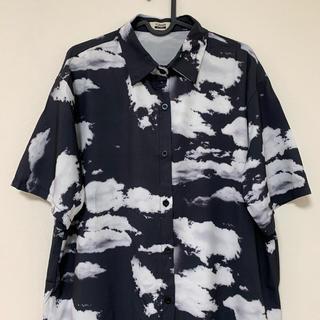 雲 アロハシャツ 半袖シャツ 空