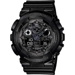 ジーショック(G-SHOCK)のGショック ブラック×迷彩ブラック(腕時計(デジタル))