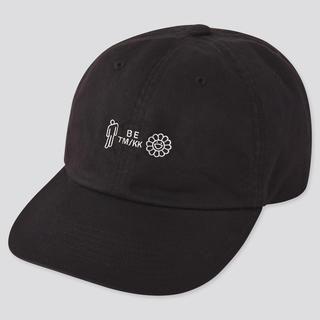 ユニクロ(UNIQLO)のユニクロ 村上隆・ビリーアイリッシュ コラボ帽子(黒) 男女兼用(キャップ)