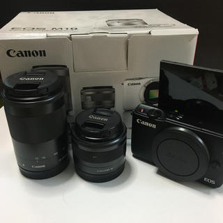 Canon - canon EOS M10 Wズームキット