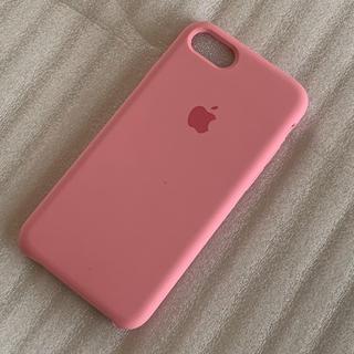 iPhoneSE(2020)/8/7 対応 ピンク シリコンケース  未使用品