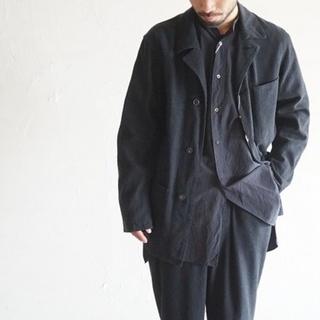 コモリ(COMOLI)のppp様専用 comoli silk nep coverall black(カバーオール)