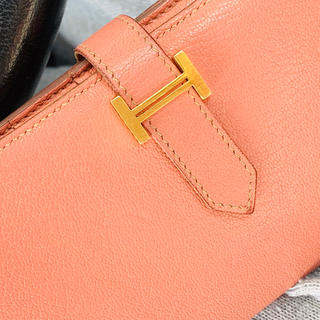 Hermes - エルメス  ベアンスフレ ピンク系 ゴールド金具