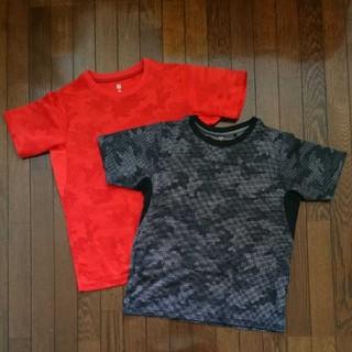 UNIQLO - ユニクロ DRY-EX Tシャツ 150cm 2枚セット 半袖 男の子 迷彩