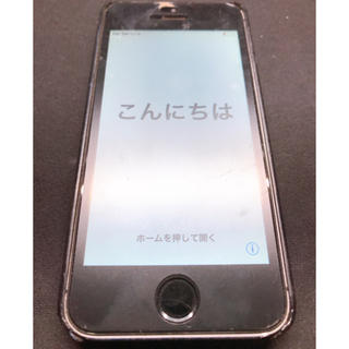 アップル(Apple)のiPhone5s  シルバー 16GB docomo版 ケース&フィルム付(スマートフォン本体)
