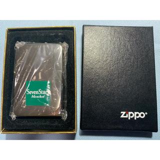 ジッポー(ZIPPO)のzippo セブンスターメンソール 未使用品(タバコグッズ)