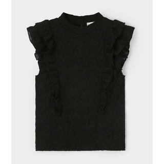 moussy - moussy 美品 レース tops LACE FRILL TOP