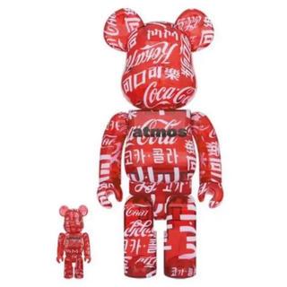 メディコムトイ(MEDICOM TOY)のBE@RBRICK atmos × Coca-Cola 100% & 400%(その他)