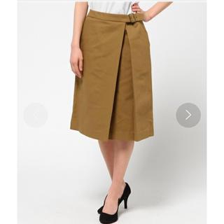 プラージュ(Plage)のプラージュ ラップスカート(ひざ丈スカート)