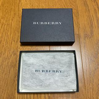 バーバリー(BURBERRY)のBURBERRY バーバリー カードケース 新品 ブラック 名刺入れ 定期入れ(名刺入れ/定期入れ)