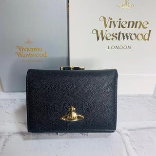 Vivienne Westwood - 新品 正規品 ヴィヴィアンウエストウッド 三つ折り財布 ブラック