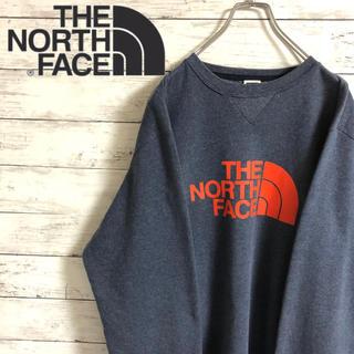 THE NORTH FACE - 【大人気】ザノースフェイス☆ビッグロゴ ハーフドーム スウェット