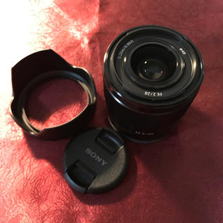 SONY - SONY SEL28F20 フルサイズ対応 単焦点
