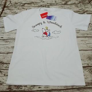 スヌーピー(SNOOPY)のスヌーピー ドライTシャツ 吸汗速乾 (Tシャツ/カットソー(半袖/袖なし))