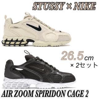 NIKE - 【STUSSY×NIKE】AIR ZOOM SPIRIDON CAGED2×2足