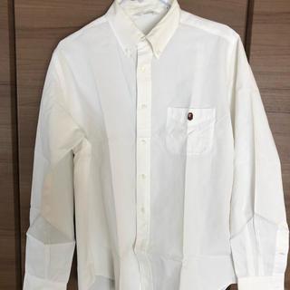 アベイシングエイプ(A BATHING APE)のA BATHING APE のホワイトシャツ(シャツ)