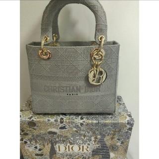 Christian Dior - Lady Dior カナージュ 2Way ハンドバッグ