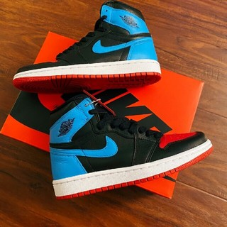 NIKE - 28.5 Nike Air Jordan 1 unc to chicago