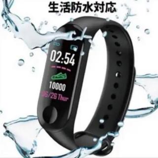 スマートウォッチ 心拍計 スマートブレスレット(腕時計(デジタル))