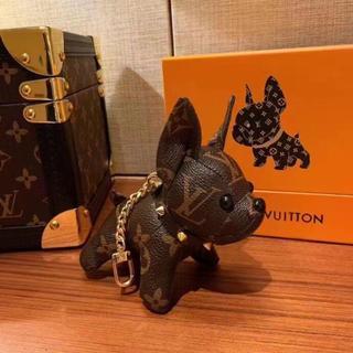 LOUIS VUITTON - 可愛い LV キーホルダー 犬