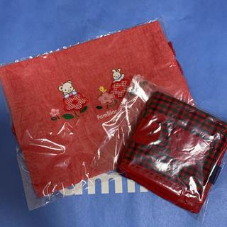 familiar - 新品 ファミリア 巾着 ハンカチ セット
