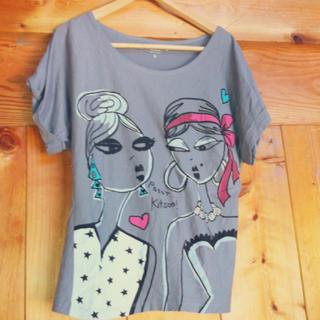 キットソン(KITSON)のkitson Tシャツ(Tシャツ(半袖/袖なし))