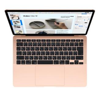 マック(MAC)のMacBook Air 13インチ ゴールド(ノートPC)