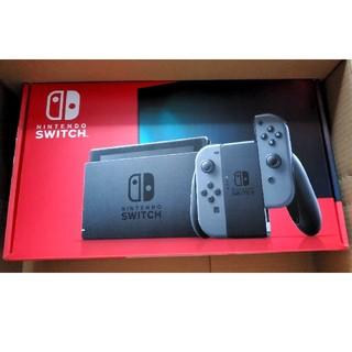 Nintendo Switch - 任天堂 Nintendo Switch 本体 グレー 新モデル 新品未使用