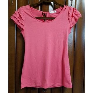ココディール(COCO DEAL)の未使用★ココディール肩フリル★ラメ入りTシャツ(Tシャツ(半袖/袖なし))