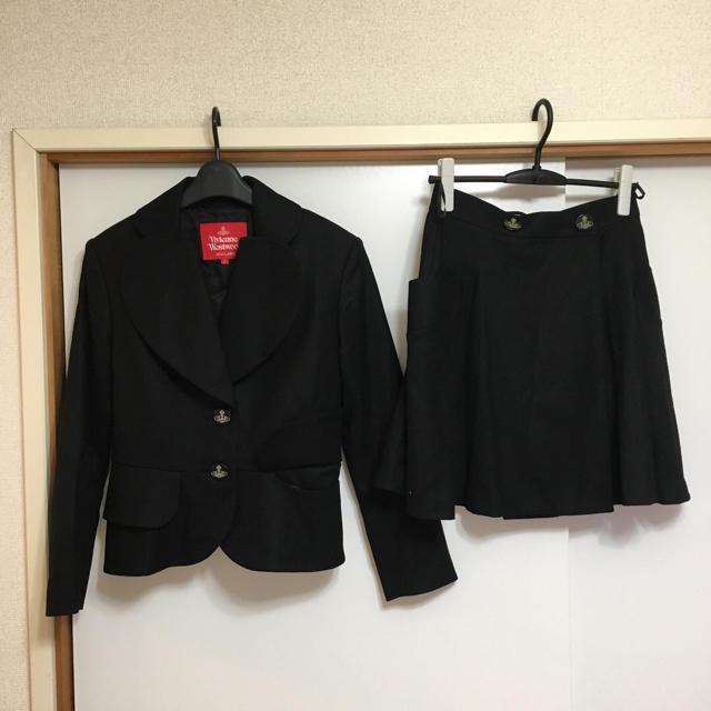 Vivienne Westwood(ヴィヴィアンウエストウッド)のVivienne Westwood Red Label  ラブデザインスーツ  レディースのフォーマル/ドレス(スーツ)の商品写真