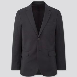 ユニクロ(UNIQLO)の新品 UNIQLOカンドウジャケット ネイビー(テーラードジャケット)