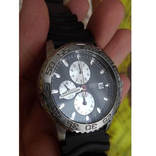 ゲス(GUESS)のGUESS スチール 腕時計 防水(腕時計(アナログ))